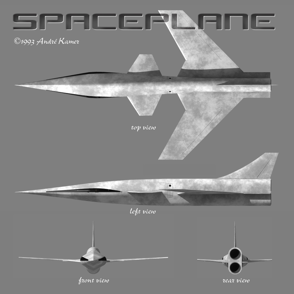 Spaceplane-overview